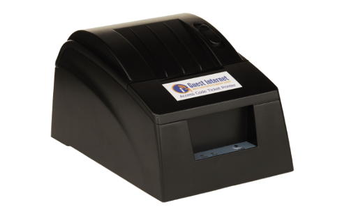 Guest Internet Hotspot Gateway GIS-TP1 ticket printer